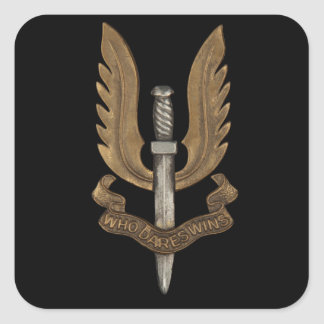 British SAS Square Sticker