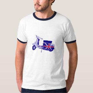 British scooter tee shirts