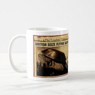British Seize Flying Saucer Basic White Mug
