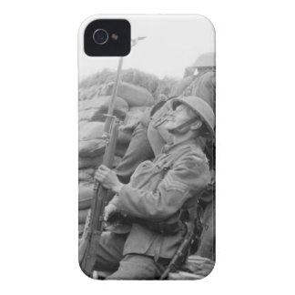 British Sergeant with Trench Periscope Case Blackberry Bold Cover