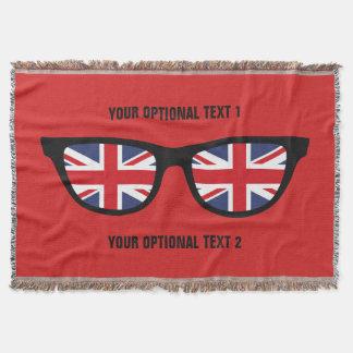 British Shades custom throw blanket
