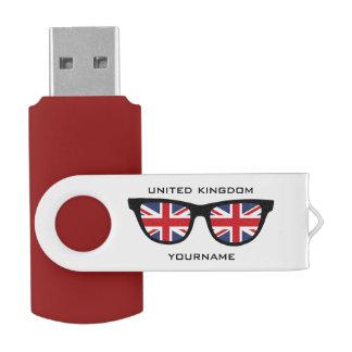 British Shades custom USB drives