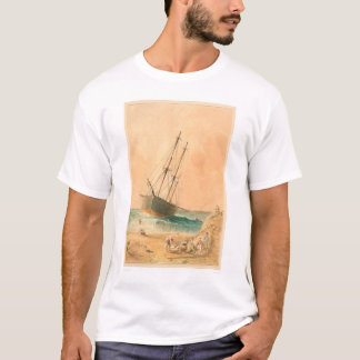 "British ship ""Viscata"" Beached (0533A) T-Shirt"