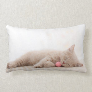 British Shorthair Cat Lumbar Cushion