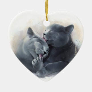 British Shorthair Christmas Ornament