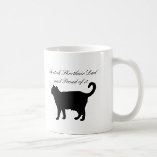 British Shorthair Dad Coffee Mug