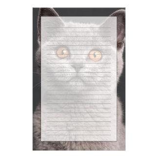 British Shorthair kitten (3 months old) Customised Stationery