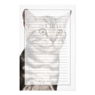 British Shorthair kitten (4 months old) Stationery Paper