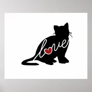 British Shorthair Love Poster