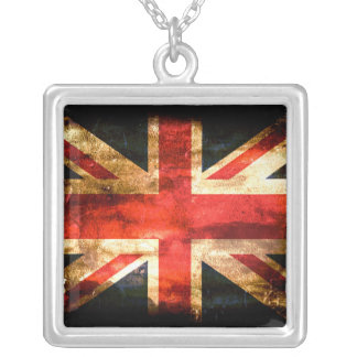 British Silver Plated Necklace