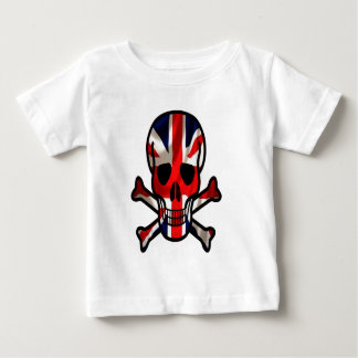 British skull & cross bones baby T-Shirt