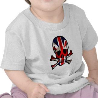 British skull & cross bones t shirt