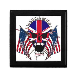 British skull gift box
