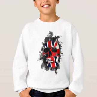 british skull sweatshirt