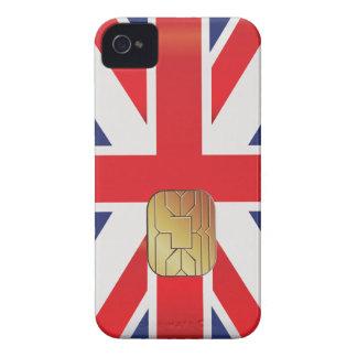 British Smart Card Patriot Geek Blackberry Case