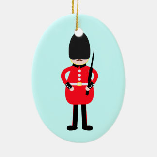 British Soldier Christmas Ornament