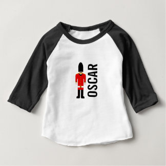 British Soldier Custom 3/4 Sleeved Baby Top