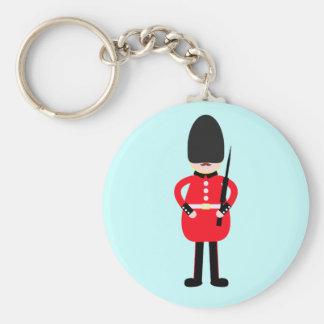 British Soldier Key Ring