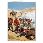 British soldiers of the 19th century greeting cards
