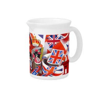 British Souvenirs Pitcher