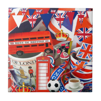 British Souvenirs Tile