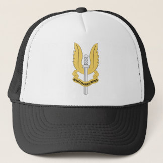 British Special Air Service SAS Trucker Hat