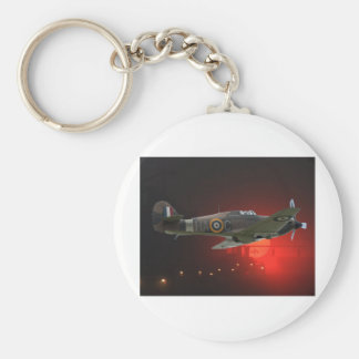 British Spitfire Key Ring