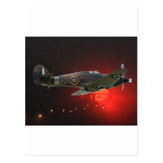 British Spitfire Postcard