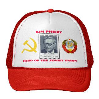 British Spy Kim Philby, Hero of the Soviet Union Cap