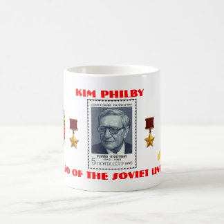 British Spy Kim Philby, Hero of the Soviet Union Coffee Mug