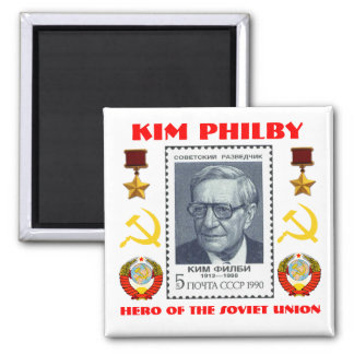 British Spy Kim Philby, Hero of the Soviet Union Magnet