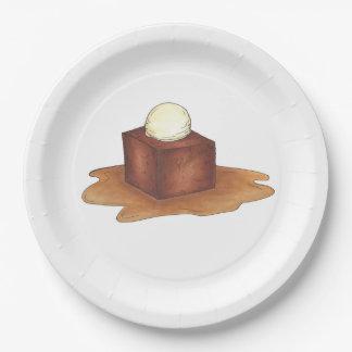 British Sticky Toffee Pudding Dessert Foodie Plate