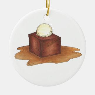 British Sticky Toffee Pudding Dessert Ornament