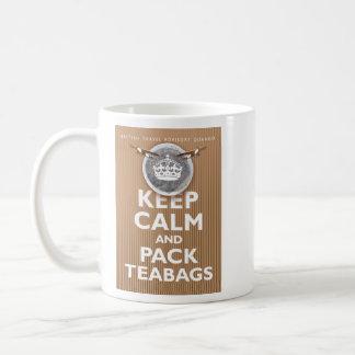 'British Teabag Advice' Basic White Mug