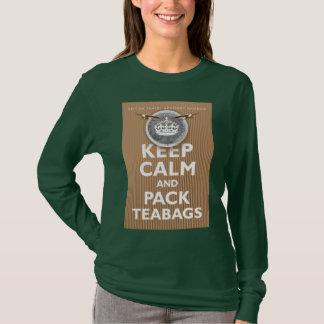 'British Teabag Advice' T-Shirt