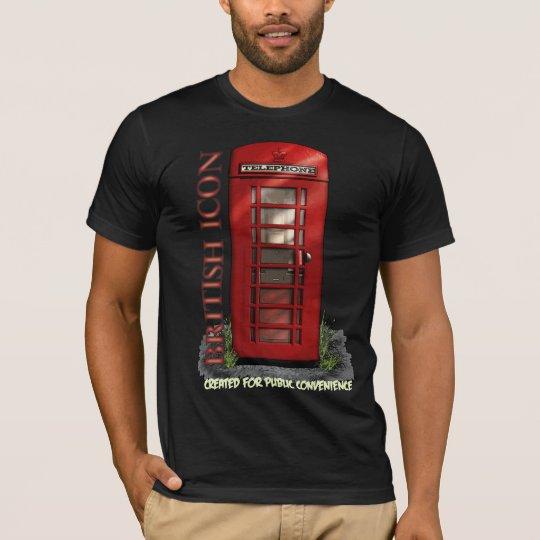 British Telephone Box Funny T-Shirt