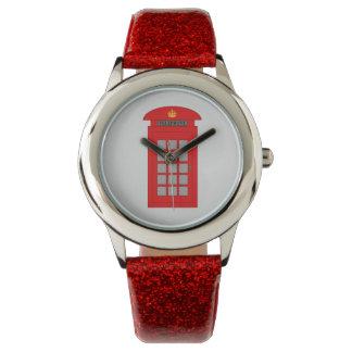 British Telephone Box Watch