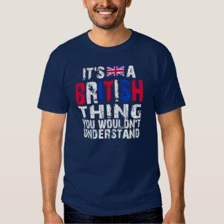 British Thing T-shirts