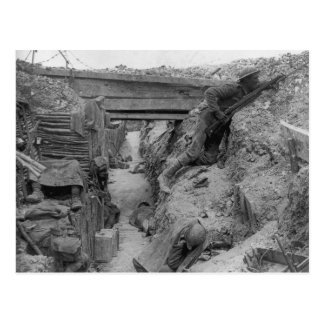 British Trench During the Battle of the Somme Postcard