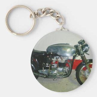 British Triton Motorcycle. Key Ring