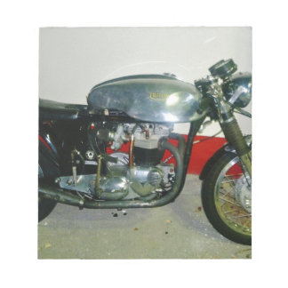 British Triton Motorcycle. Notepad