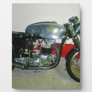 British Triton Motorcycle. Plaque