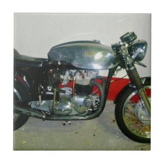 British Triton Motorcycle. Tile