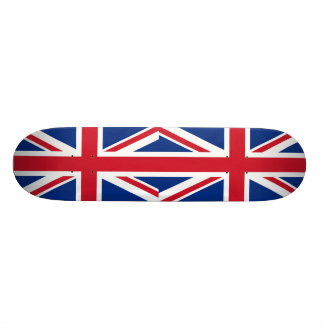 British - UK - Great Britain - Union Jack flag 20.6 Cm Skateboard Deck