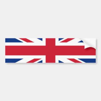 British - UK - Great Britain - Union Jack flag Car Bumper Sticker