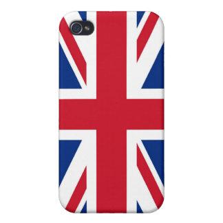 British - UK - Great Britain - Union Jack flag iPhone 4/4S Cases