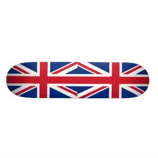 British - UK - Great Britain - Union Jack flag Skate Board