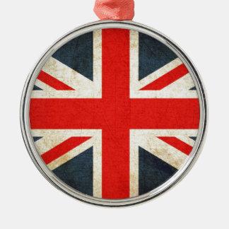 British Union Flag Christmas Ornament