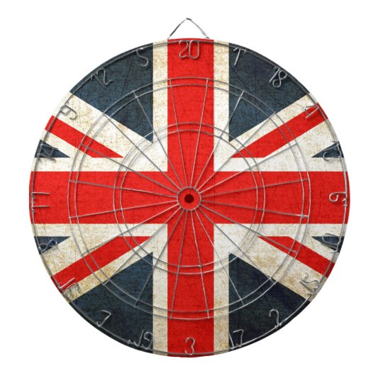 British Union Flag Dartboard