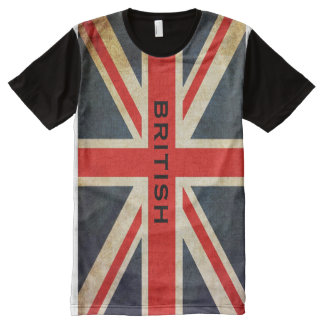 British Union Jack All Over Print T-Shirt All-Over Print T-Shirt